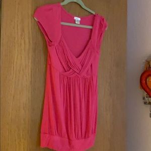 Pink top, excellent condition